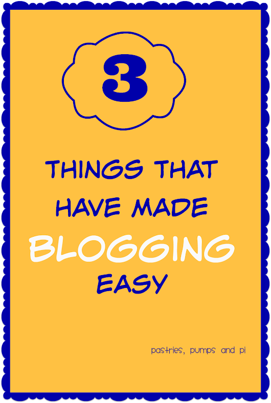 3 Things That Have Made Blogging Easy