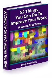 BOOK 52 Things You Can Do to Improve Your Work - A Week at a Time