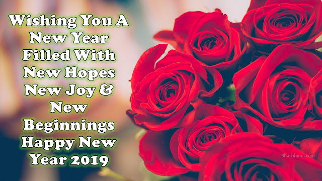 Happy New Year 2019 message and image