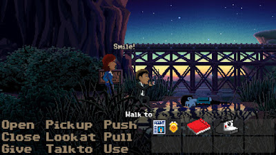 Press Start - Thimbleweed Park