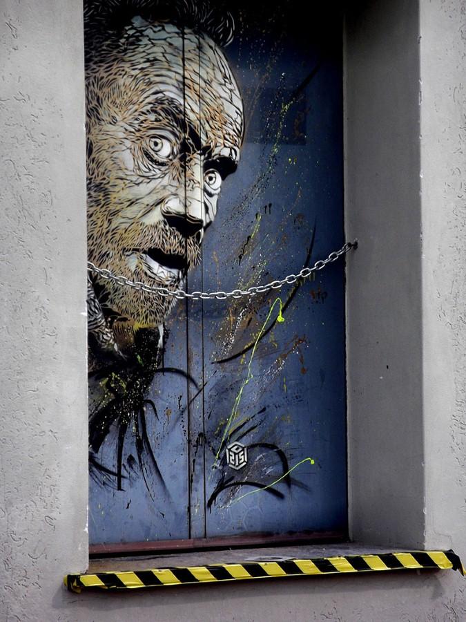 Уличное искусство Кристиана Гуеми (Christian Guémy aka C215) 41
