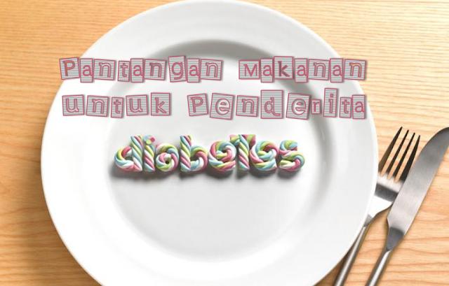 pantangan makanan diabetes