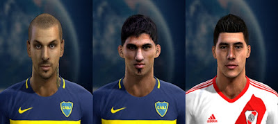 Mini Facepack Liga Argentina (V1) Pes 2013