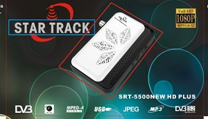 Star track receiver SRT5500 NEW HD PLUS