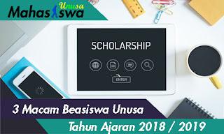 beasiswa di unusa 2018 2019