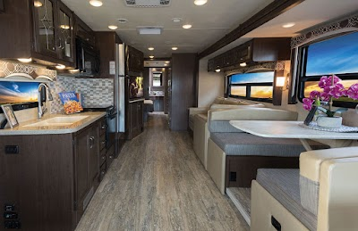 Thor Motor Coach Introduces New Hurricane 35M Class A Motorhome