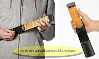 Alat Latihan Gitar (Portable Pocket Practice Guitar)