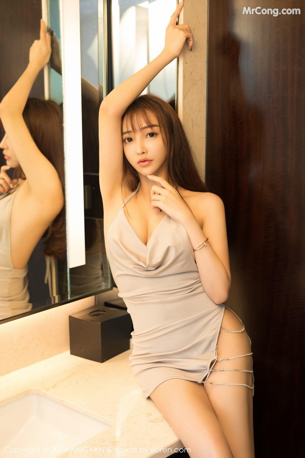 Image XingYan-Vol.090-Angel-MrCong.com-004 in post XingYan Vol.090: Người mẫu 安安Angel (41 ảnh)