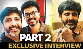 Next Film with Vijay as discussed during our latest meet | Director Mohan Raja Interview