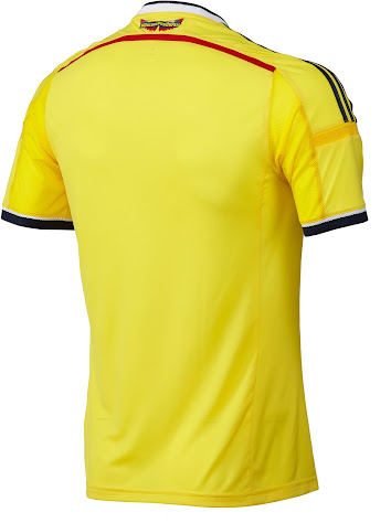 Colombia 2014 World Cup Home Kit. This is the new Colombia 2014 Home Shirt  made by Adidas a4926223e