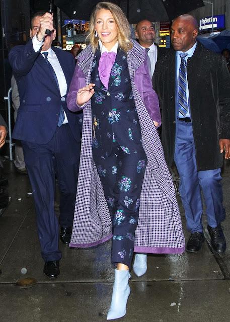 blake lively, a simple favour, press tour, fashion, outfits