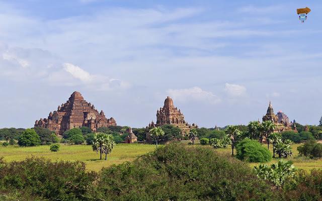 Templos y pagodas en Bagan