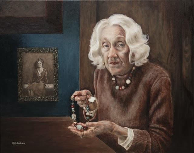 Реалистическая портретная живопись. Holly Bedrosian
