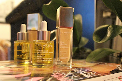 Clarins Iluminate Skin Foundation and Face Oil
