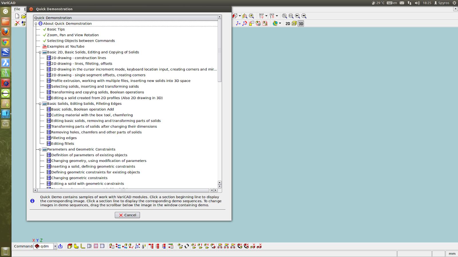 Varicad Linux - informationletter