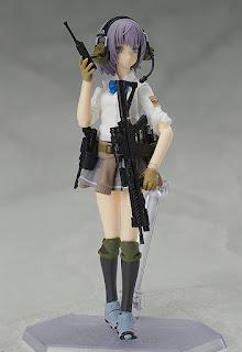 """Figuras: Imágenes y detalles del figma Miyo Asato Summer Uniform ver.  de """"Little Armory"""" - Good Smile Company"""