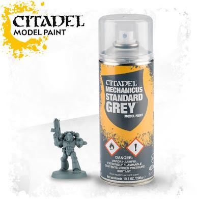 warhammer 40k beginners guide spray paint