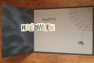 CTMH Halloween Card
