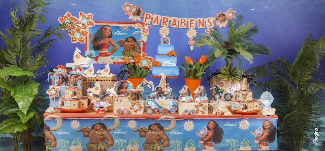 Tema Festa Infantil Moana