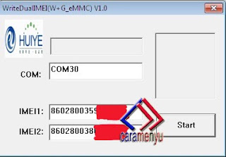 Imei Write Untuk Repair MEID / IMEI Null All Andromax QUALCOMM
