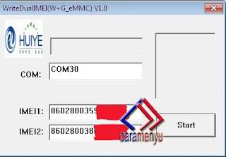 Imei Write Untuk Repair MEID / IMEI Null All Andromax QUALCOMM