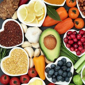Healthy Diet Rich in Vitamins
