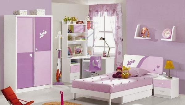 decoration chambre couleur violet