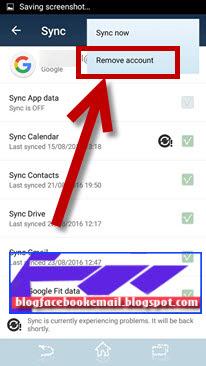 cara remove akun google di handphone android