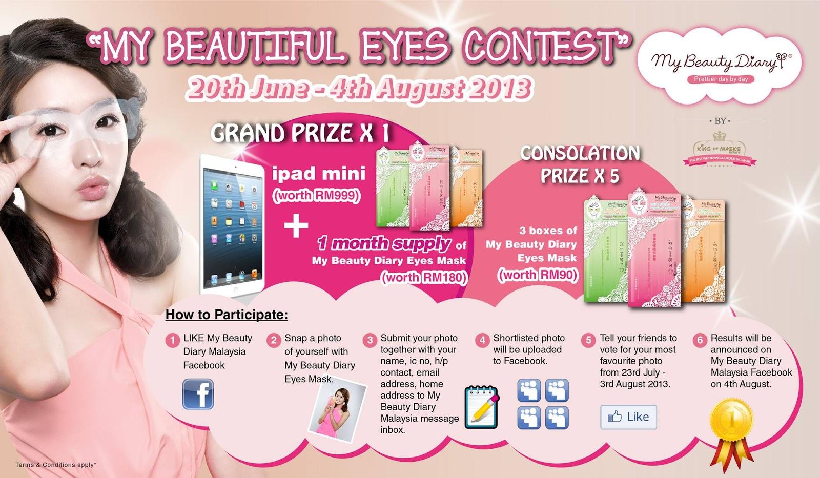 Dreamer~: My Beauty Diary eye masks launch