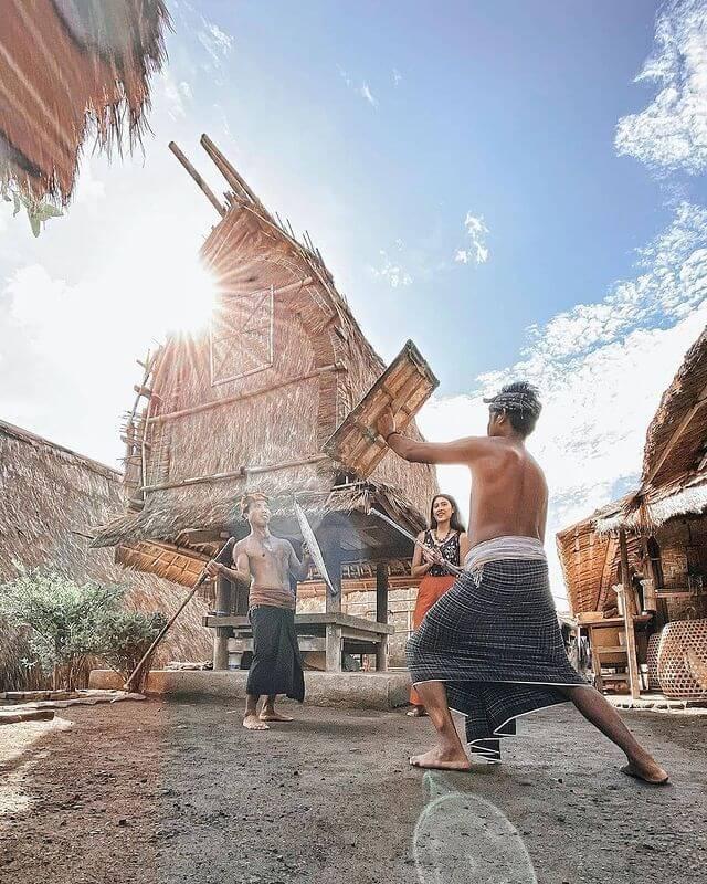 Dusun Sasak Sade Lombok - foto instagram dilfadiel
