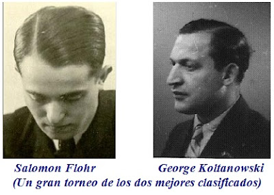 Salomon Flohr y George Koltanowski