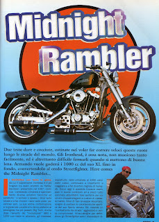 sportster ironhead 1000 on freeway magazine 1997