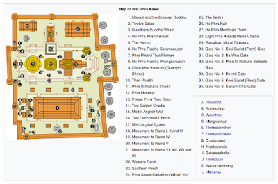 Map of Wat Phra Kaew Wikipedia