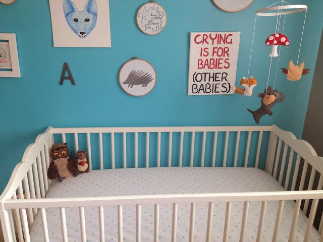 Little Blue House On The Prairie The Nursery