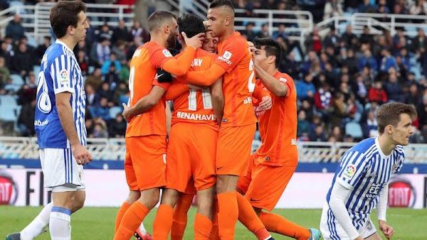 El Málaga no gana desde la jornada 15