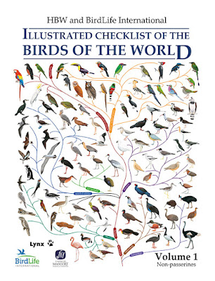 HBW and BirdLife International Illustrated Checklist of the Birds of the World. Volume 1