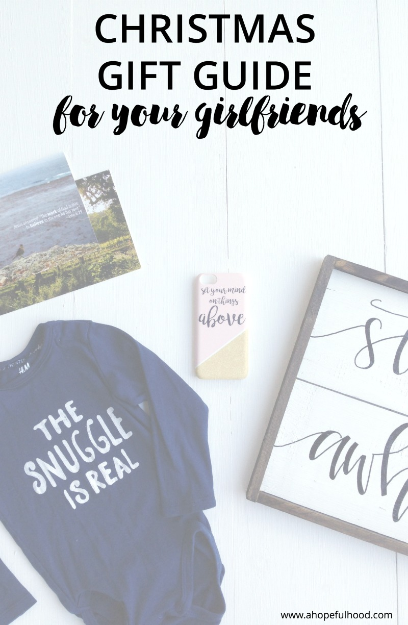 Ideas for creative, thoughtful gifts for your girlfriends that no one else will get them! // via @ahopefulhood