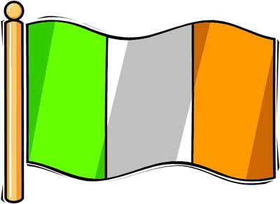 Graafix Irish Flag Of Ireland Flags