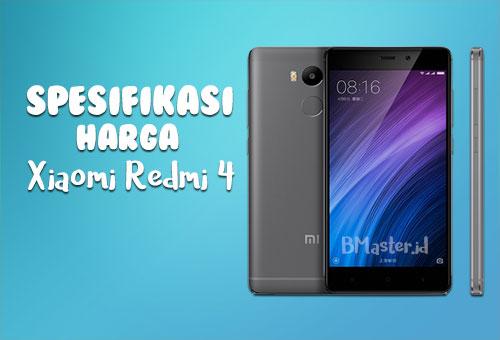 Spesifikasi Xiaomi Redmi 4 dan Harga Terbaru