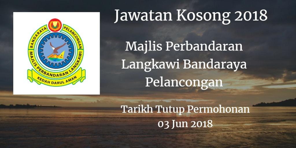 Jawatan Kosong MPLBP 03 Jun 2018
