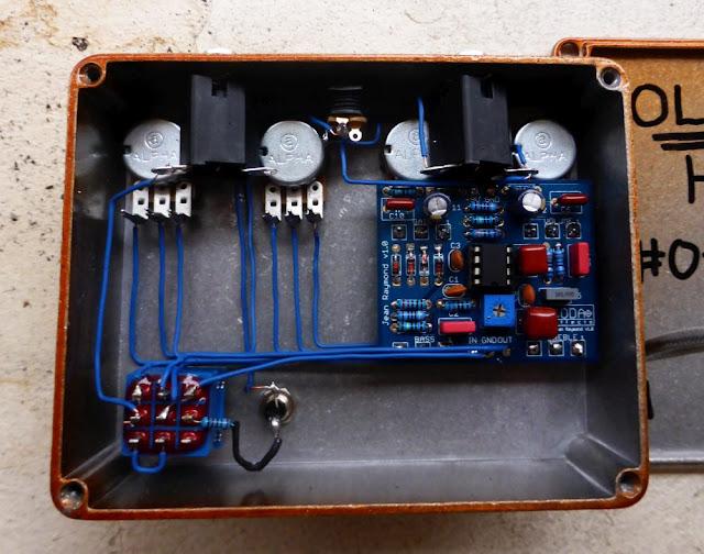 Guitar Pedal Wiring
