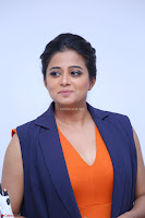 Priyamani in Beautiful Short Deep neck Orange Dress ~  Exclusive 59.JPG
