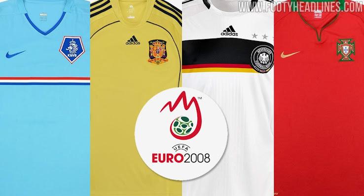 Analyse détaillée | Kits UEFA EURO 2008  - Euro 2020