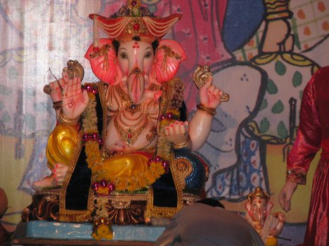 why is the god ganesha immersed in water  the hindu