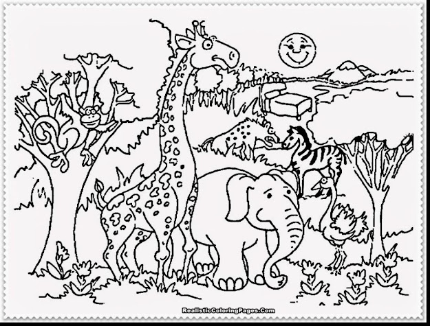 Excellent Zoo Animals Coloring Pages With Animal Coloring Page And Animal  Coloring Pages Hard