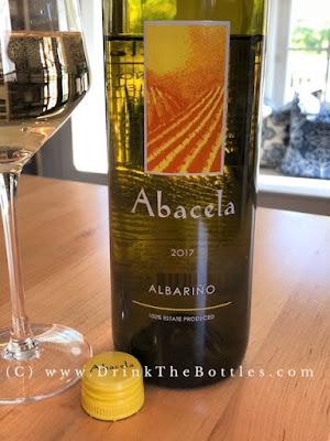 2017 Abacela Albarino label