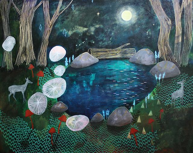 Habit Of Art New Work In The Deep Dark Woods