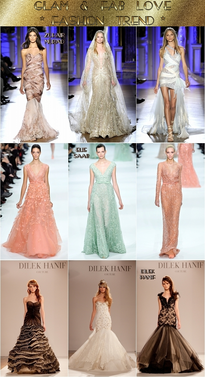 Haute Couture spring 2012 best collections Zuhair Murad Elie Saab Dilek Hanif