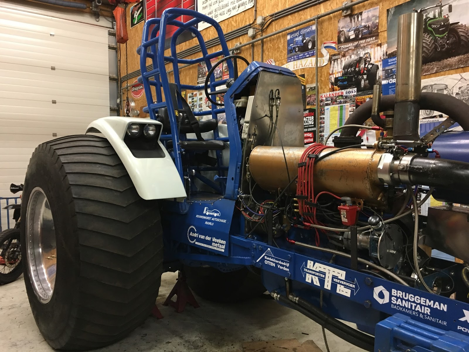 Tractor Pulling Engines : Tractor pulling news pullingworld changes on iessel