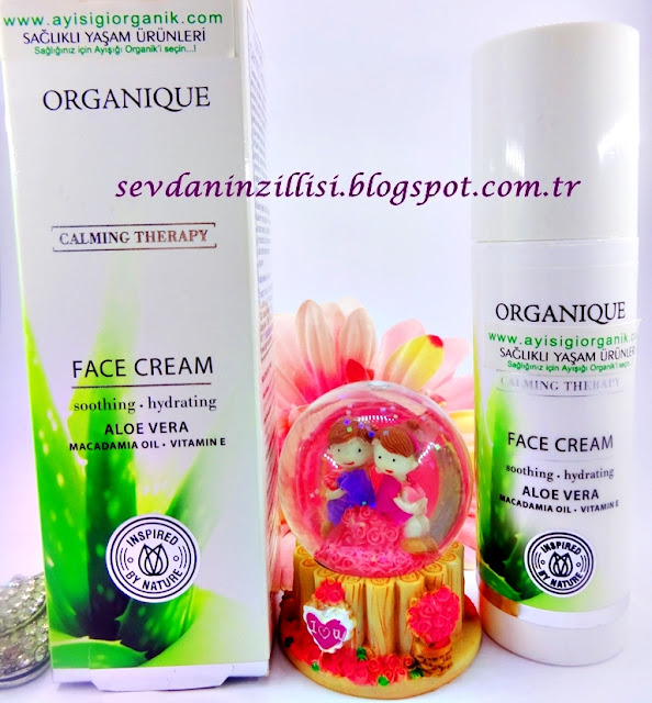 organique-calming-therapy-yuz-kremi